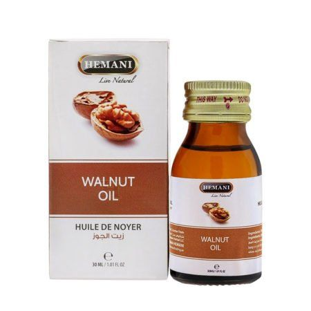 Walnut oil Hemani (Масло грецкого ореха Хемани) 30мл