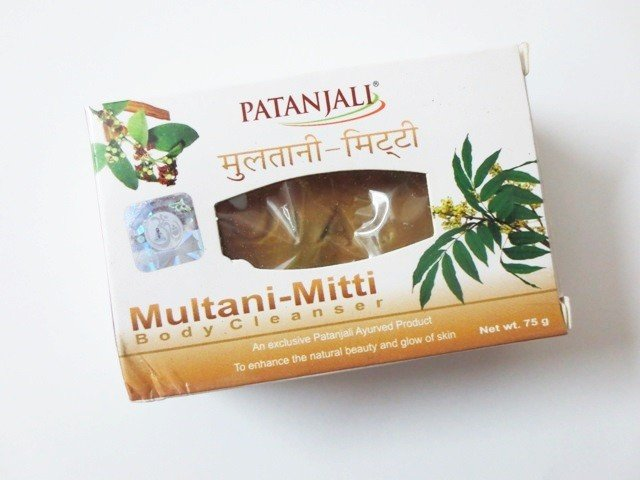 Multani Mitty Body Cleanser Soap Patanjali (Мыло Мултани Митти Патанджали) 75гр
