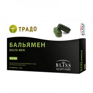 Бальямен 60 табл. Bliss Ayurveda