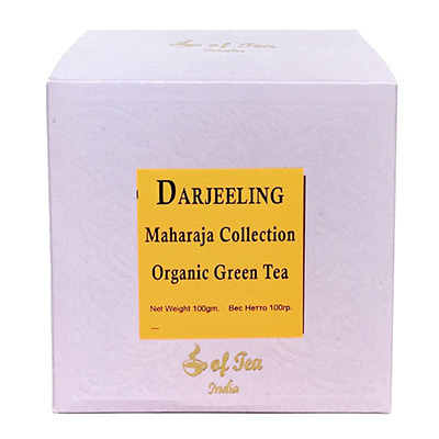 Чай индийский зелёный Darjeeling Maharaja Collection Organic Green Tea 100 г Bharat Bazaar