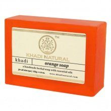 Мыло Orange Soap Khadi Natural  (Мыло Апельсин Кхади Натурал) 125гр