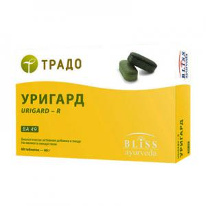 Уригард 60 табл., Bliss Ayurveda